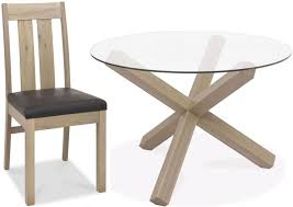 bentley designs turin aged oak dining set round coaster fine furniture dining set with glass