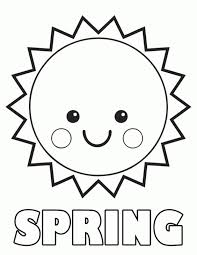 Small Picture Printable 40 Preschool Coloring Pages Spring 8136 Free Spring