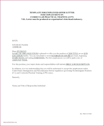 Examples Of Employment Verification Letters Employment