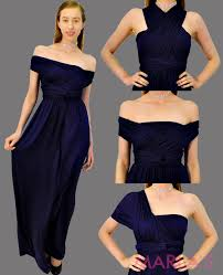 infinity dress styles. d111-long navy infinity dress can be worn in 50 different styles. styles