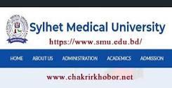 Sylhet Medical University Job Circular এর ছবির ফলাফল