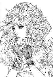 Amber Kepler Color Adult Coloring Pages Hair Books Book Long Lasting