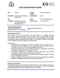 Work Description Form 23 Printable Job Description Form Templates Fillable