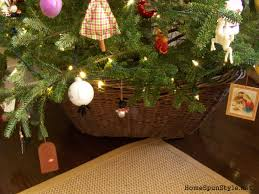 Large Christmas Tree Stand Diy Christmas Tree Collar Home Spun Style