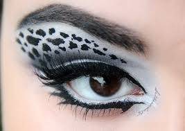 gorgeous snow leopard eye makeup youniques deelynnvinet facebook