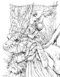 Don T Forget To Share Detailed Fantasy Coloring Pages On Facebook