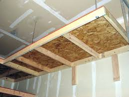 ceiling hanging shelves ceiling hanging shelves garage ceiling suspended garage shelving