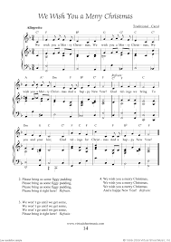 We Wish You a Merry Christmas Sheet Music, Lyrics and Mp3