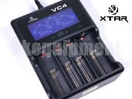XTAR VC4 LCD Screen USB Battery Charger 18650 26650 32650 14500 AA AAA
