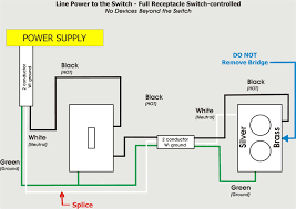 wire a switch dolgular com how to wire a light switch and outlet in same box at Switch Receptacle Combo Wiring Diagram