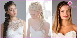 Svatební účesy S Copánky Možnosti Pro Vlasy Různých Délek