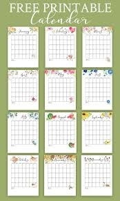 At A Glance Monthly Planner 2019 Free Printable Calendar 2019 Monthly Calendar Best Free