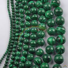 Online Shop <b>Wholesale Synthetic Stone</b> Green Malachite Round ...