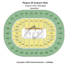 Cobo Hall Seating Chart Palace At Auburn Hills Insidearenas Com