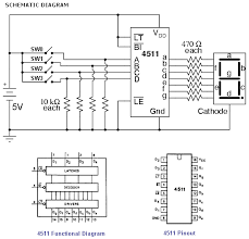 interfacing to segment displays in the above diagram the 4 toggle switches sw0 to sw3 are used to select the desired numeral 0 9 that will appear on the 7 segment display