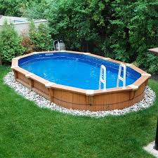square above ground pool with deck. Backyard Square Above Ground Pool With Deck