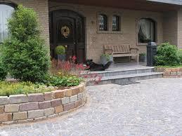 Vorplatz Vorgarten Hauseingang Gestaltung