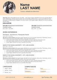 teacher resume format in word free download