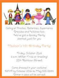 invitation for a party new halloween birthday invitation by afairytalebeginning on etsy