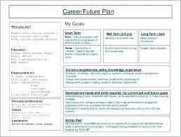 Personal Business Plan Template 5 Year Development Plan
