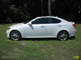 lexus is 250 2008 white. Perfect White Starfire White Pearl  Cashmere Beige Lexus IS 250 In Is 2008
