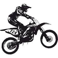 Dirt Bike Trick <b>Motocross Moto</b> Sticker Muraux WS-18655 Home ...
