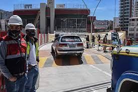 La Alcaldía habilita un tramo del viaducto Tejada Sorzano en La Paz |  boliviaentusmanos