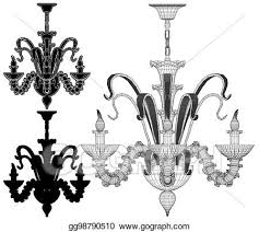 er chandelier vector 49 eps