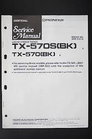 pioneer tx 1070 bk tuner original additional service manual wiring pioneer tx 570 tx 570s tuner original additional service manual wiring diagram