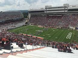 Lane Stadium Seating Chart Student Section Lane Stadium Interactive Seating Chart