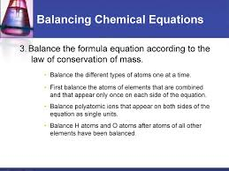 chemical reactions chapter