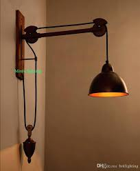 industrial lighting bathroom. Modren Industrial Bathroom Wall Lamps Vintage Industrial Lighting Coffee Shop Retro Light  Sconces Bar Rustic Spindle Pulley Lamp With Industrial Lighting Bathroom C