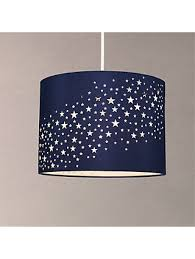 Ceiling Little Home At John Lewis Stardust Lampshade Navy Muthu Property Childrens Lighting John Lewis Partners