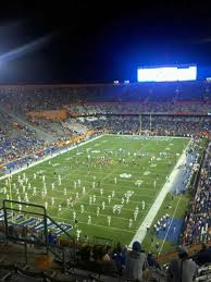 Ben Hill Griffin Stadium Section 321 Home Of Florida Gators