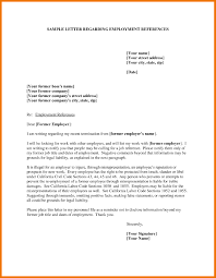 Letter Of Reference Job Job Reference Template Letters Free Sample Letters 23