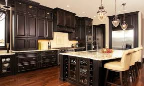 dark stained kitchen cabinets.  Kitchen How To Stain Kitchen Cabinets Darker Of Gorgeous Colors For Staining With Dark Stained