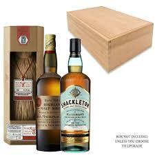 shackleton whiskey gift set out of stock