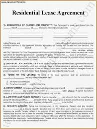 29 New Residential Lease Form Sample Best Form Template Example