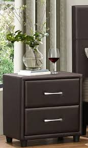 dark brown nightstand. Perfect Nightstand Lorenzi Dark Brown Nightstand For A
