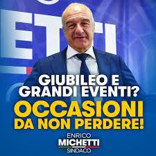 Programma - Enrico Michetti Sindaco - Roma, in persona.