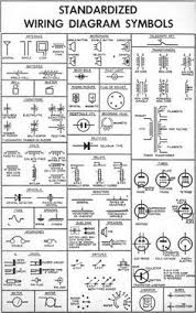 electrical objects electrical symbol icon set isolated on a white standardized wiring diagram schematic symbols