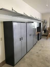 Floor To Ceiling Garage Cabinets Greenville Garage Cabinet Ideas Gallery The Garage Authority