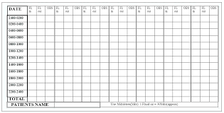Daily Food Intake Chart Template Journal Design Freepik