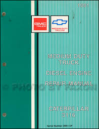 1991 topkick kodiak s7 wiring diagram manual factory reprint 1991 gmc chevy topkick kodiak caterpiller 3116 diesel repair shop manual supp