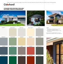 Bluescope Color Chart Colorbond Roofing Colors Colours Fo Roofing 1 2 Pages