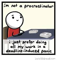 Image result for the procrastination funny