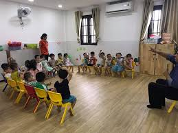CHÀO BÉ YÊU - Lớp Mickey 1-2 học tiếng anh
