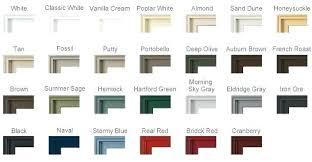 Pella Window Colors Blueoceantrading Co