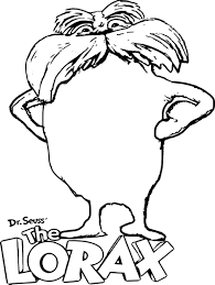 Small Picture adult lorax coloring page the lorax coloring pages audrey lorax