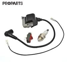 Us 15 19 Ignition Coil On Off Stop Switch Spark Plug Kit For Husqvarna 50 51 55 254 257 261 262 Xp 266 268 272 Xp Chainsaw 544018401 In Tool Parts